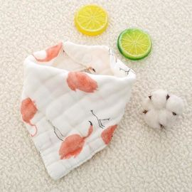 Pre Washing Trendy Baby Bibs / Terry Cloth Bibs For Toddlers Soft Feeling