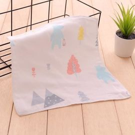 Soft Absorbent 100 Percent Cotton Handkerchiefs , Personalized Cotton Handkerchiefs