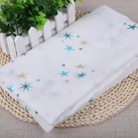 100 Percent Cotton Muslin Fabric , Soft Cotton Gauze Fabric Tear Resistant