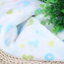 Nature Soft Printed Muslin Fabric Baby Blanket Home Travel Bath Usage
