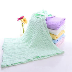 100 Cotton Muslin Hooded Towel Gentle For Delicate Skin Durable Daily Use