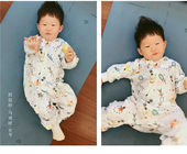 Unique Breathable Softest Baby Pajamas Unisex Newborn Baby Rompers ODM / OEM