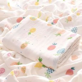 China Breathable Solid Color Swaddle Blankets Multiple Use For Unisex Babies factory